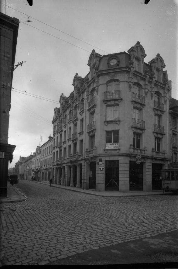 Rue Singer avant-guerre