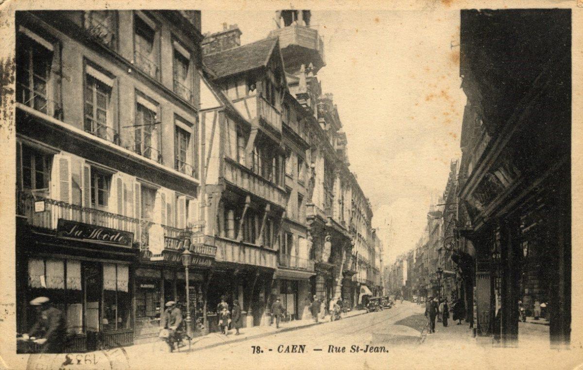Maison à pan de bois au 94 rue Saint-Jean