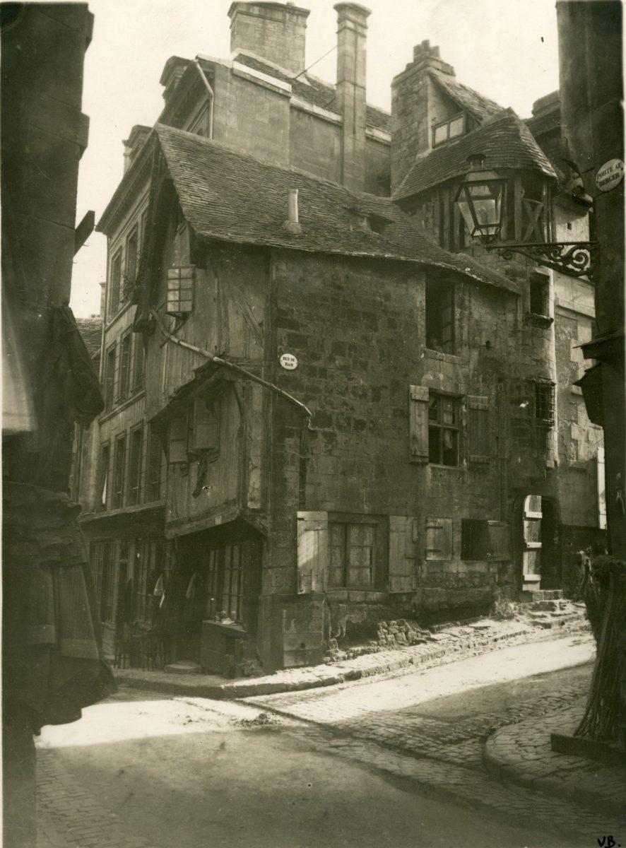 Angle rue du Ham – rue Porte-au-Berger