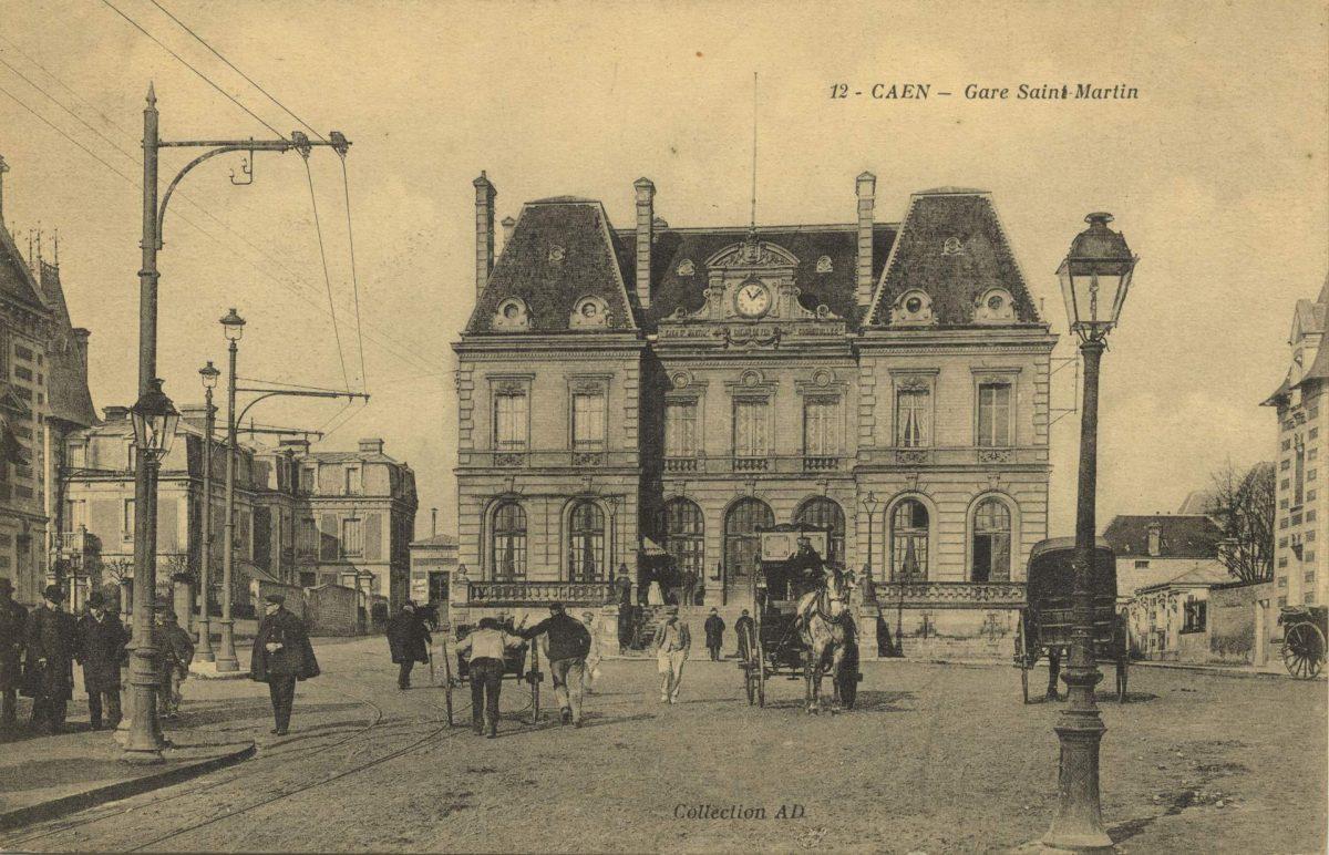 Ancienne gare Saint-Martin, début du 20ème siècle (Collection Pigache)
