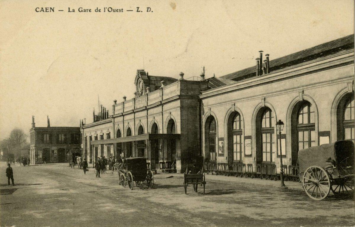 Ancienne gare de l'Ouest (Collection Pigache)