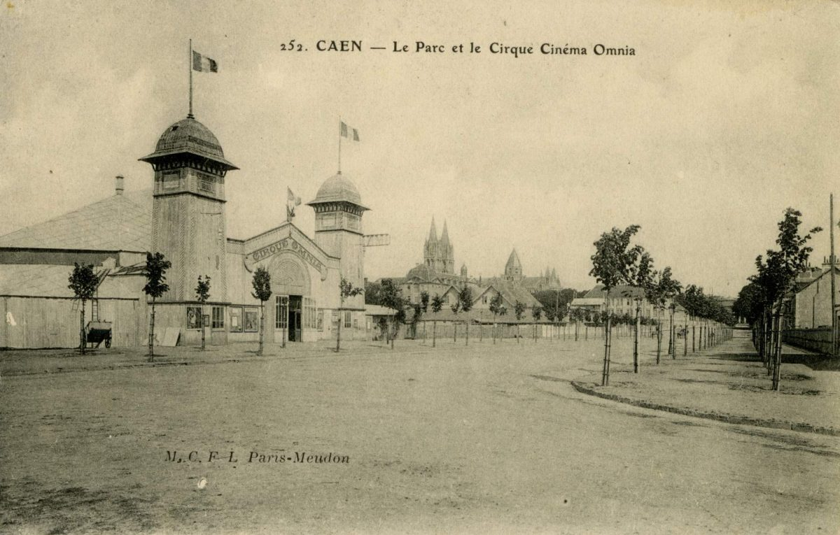 Avenue Albert Sorel, cirque cinéma Omnia (collection Pigache)