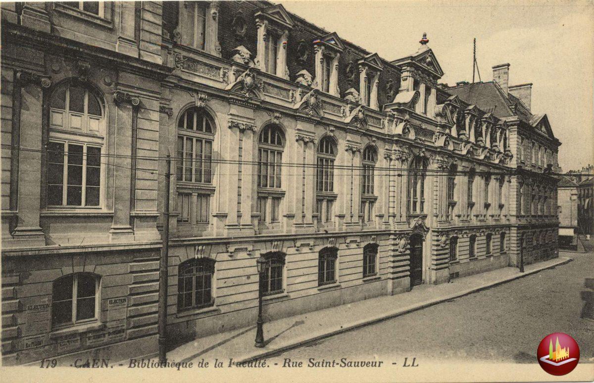 Bibliothèque de la faculté.