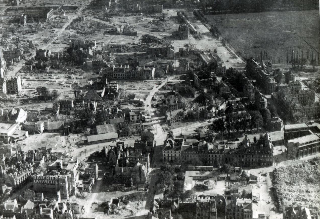 caen, une ville détruite…au patrimoine encore très riche. - cadomus