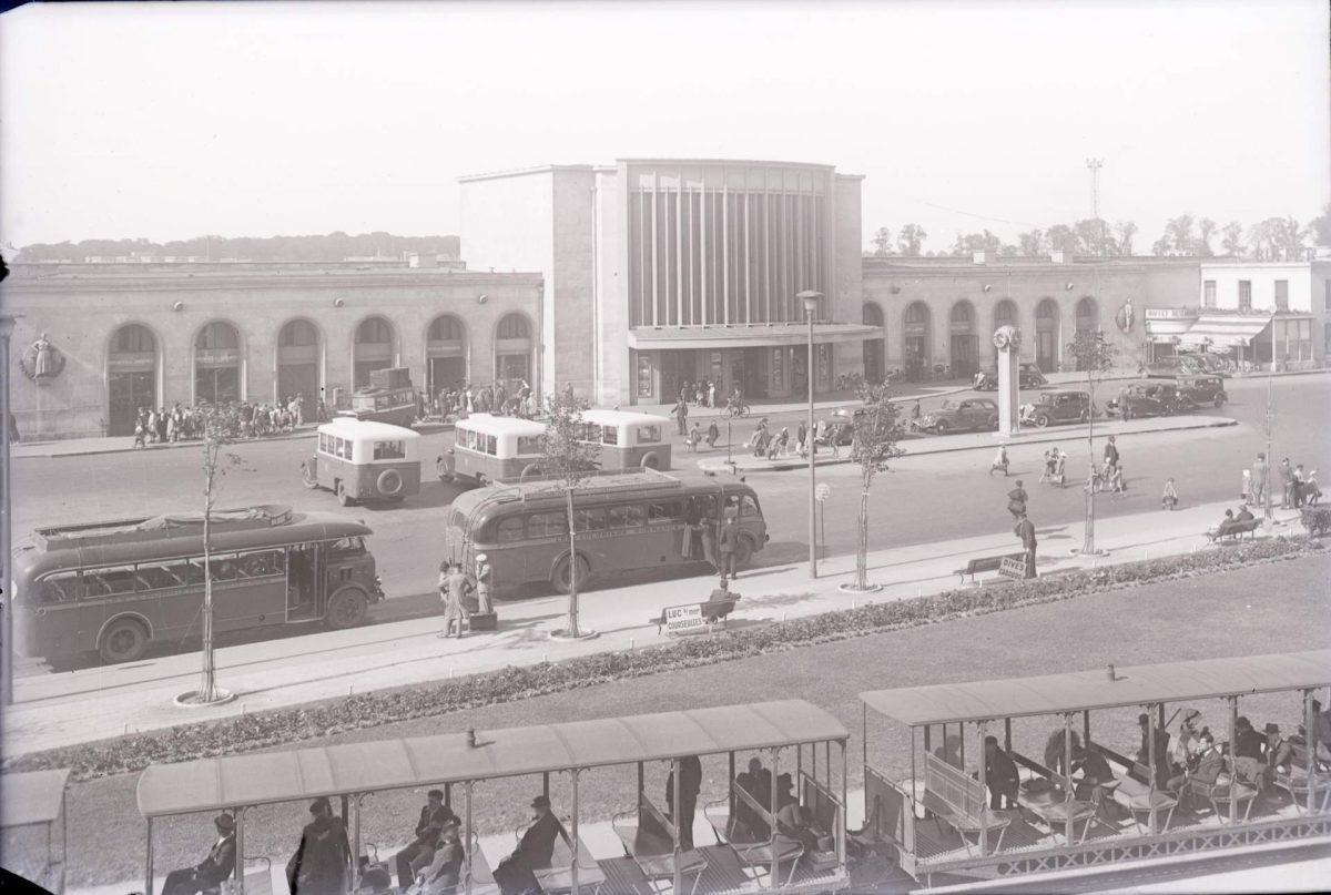 Gare de Caen dans les années 30 (Droits réservés)