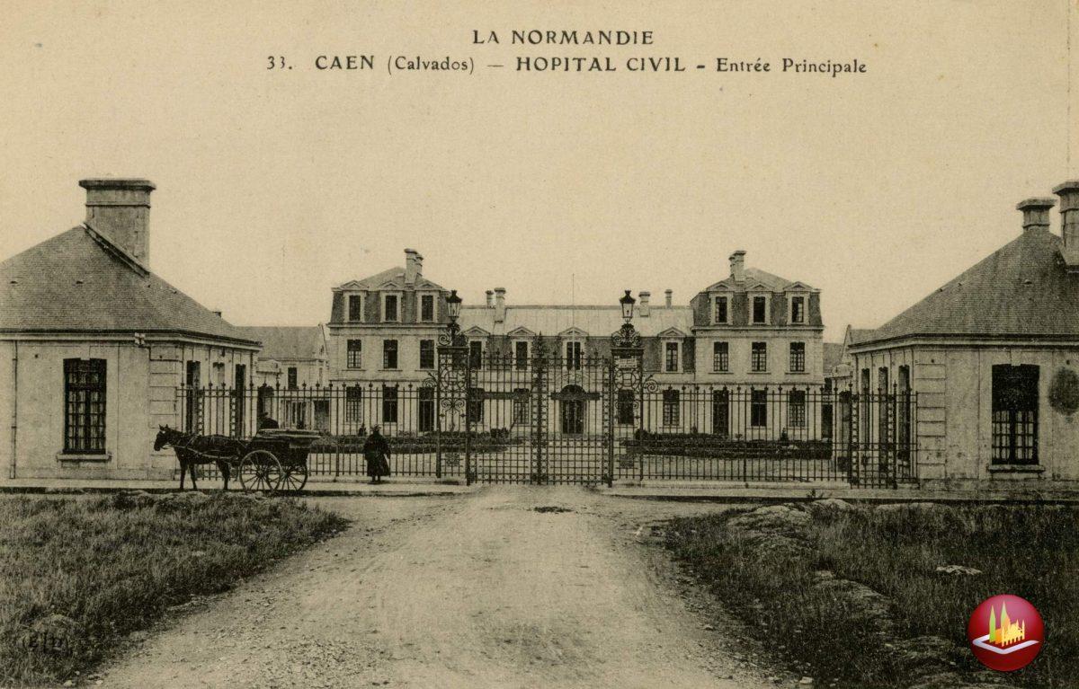 Hôpital civil, entrée Principale.