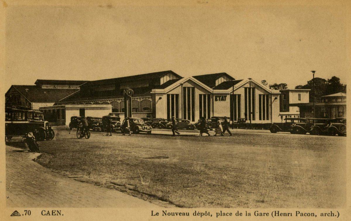 Nouveau dépôt de la Gare, années 30 (Collection Pigache)