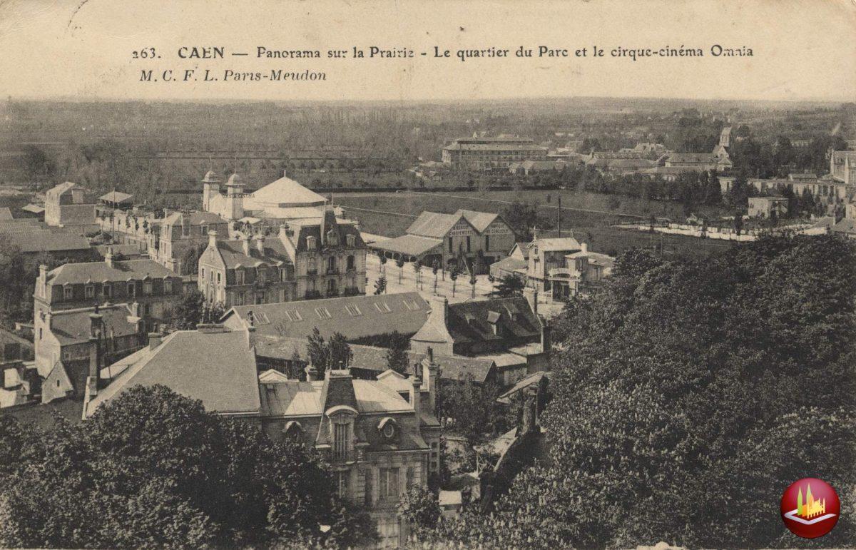 Panorama sur la Prairie et l'avenue Albert Sorel