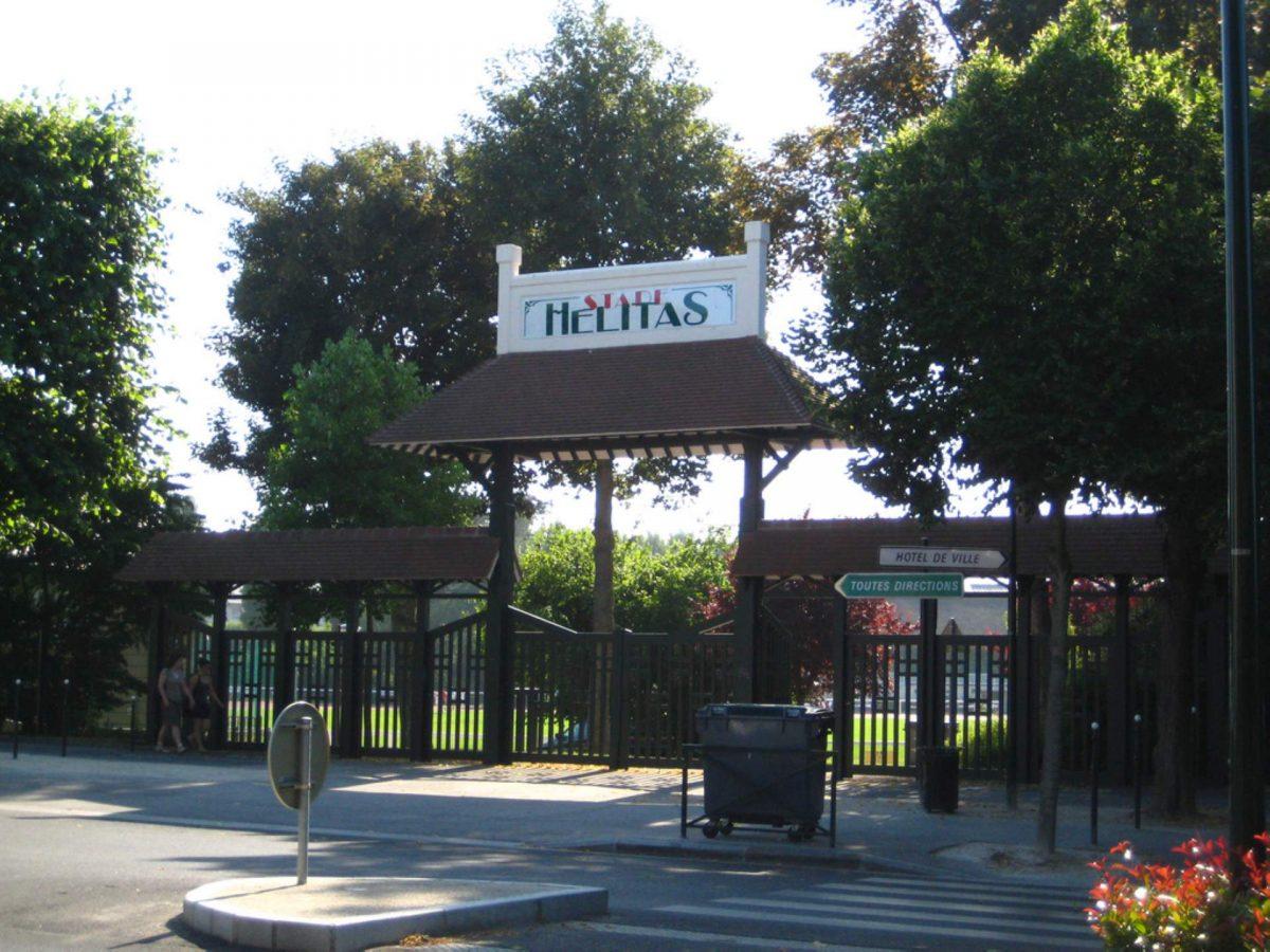 Portail du stade Hélitas (Karl Dupart-Cadomus)