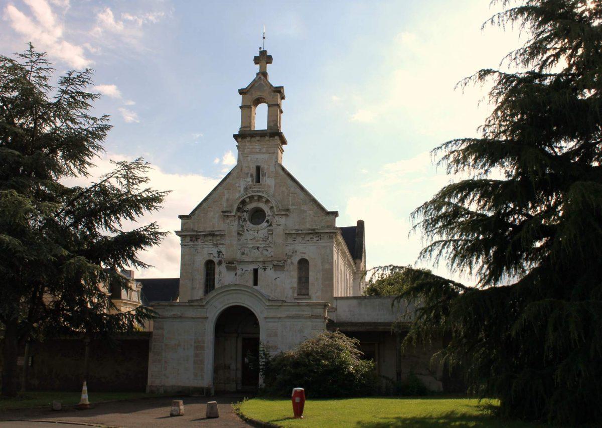Chapelle de l'hôpital Clémenceau (Karl Dupart-Cadomus)